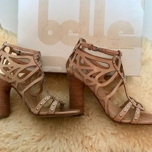 ALMOST NEW Belle Sigerson Morrison Nude Sandals, 7